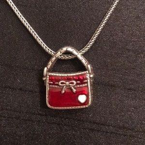 """Brighton purse necklace 16-18"""""""